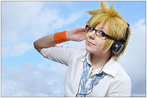 Vocaloid: Jersey Boy by CosplayerWithCamera
