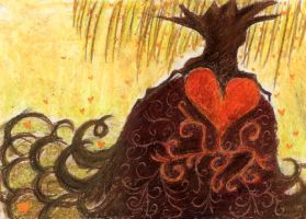 tree of hearts by ellida
