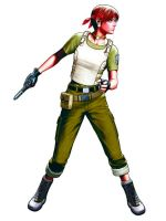 Rebecca Chambers from DS Game by And-FOREVER
