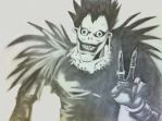 Peace Out--Ryuk by SourpatchDevil