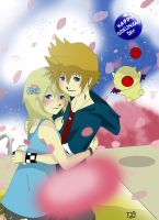 Roxas And Namine's Day by GummyDrive