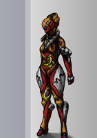 New elegant Warframe design by triatholisk