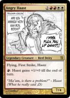MtG: Angry Haast by Overlord-J