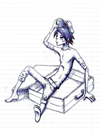 Gorillaz -  2D sketch 04 by HorizontalProjection
