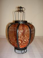 Burlesque lantern by allyekhrah-stock