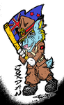 NZ Soldier Jordan by Waffles (colored by me) by jmg124