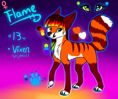 New Flame ref -CURRENT- by Liara-Chan