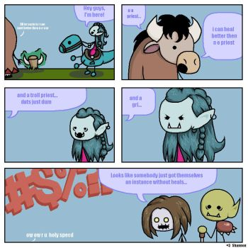 ReSubmit: WoW Comic Submission by Shannagins