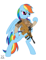 Rainbow Dash by shadawg