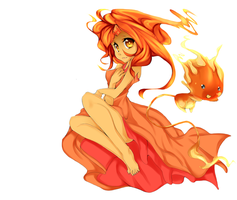 Flame princess by punipaws