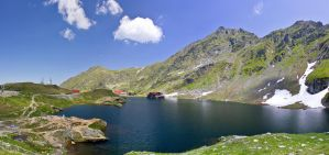 Balea Lake by JoeGP