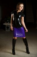 Lily purple Latex 01 by GuldorPhotography