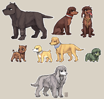BERSERK dogs by emlan