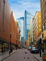 Downtown Crossing by JasonGinman