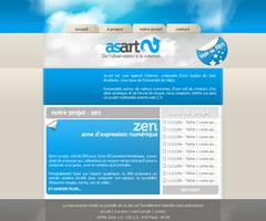 asart website by matemute by designerscouch