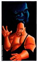 The Big Show and Akebono by k1n