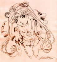 Sailor Moon sketch by Giname