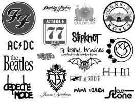 17 Bands Brushes by camiluchiiz