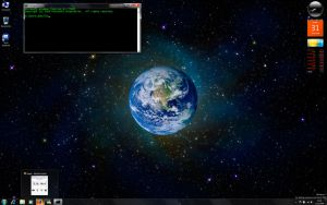 My Windows 7 Desktop by jbkalla