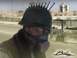 Post Apocalyptic Mercenary 04 by BaLLz-Graphics
