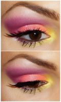 Candy look makeup tutorial by NatashaSmithPhoto