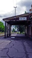 Railway station in Ventspils by ANTIDESIGNs
