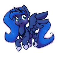 Princess Luna by Crazy-Luna