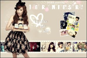 1 Year Anniversary^^! by SNSDLoveSNSD