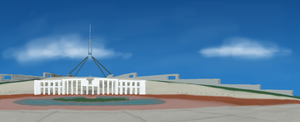 Parliament House by jellybeansoup