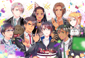 Happy birthday seung-gil !! by wish114