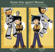 Draw this again! Meme by Linariel