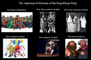 American Politicans: Republican Party by Winter-Phantom