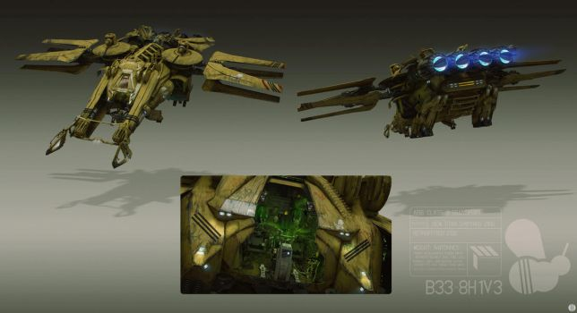 Ship Ortho by bradwright