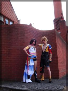 Tidus Yuna-A Place out of Time by twinfools