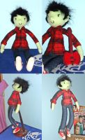 Marshall Lee plush by nezcabob