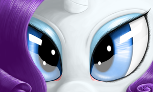 Rarity's eyes by The1Xeno1