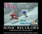 SONIC RECOLORS by Mephilez