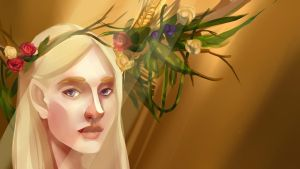 Dream of Thranduil by XxInterxX