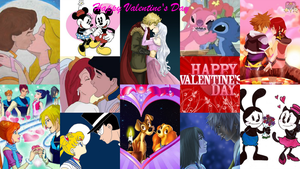 Valentine's Day Animated Couples 2014 by montey4