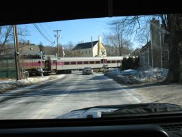 train crossing by Peter-Pine