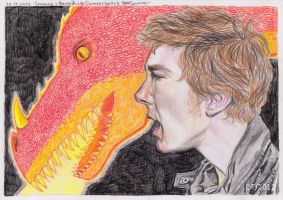 2012-11-16_Smaug-Cumberbatch_red by Hollywoodie