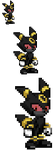 Salem the Umbreon Sprite by LucarioShirona