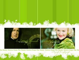 Snape and Rita in the jungle.. by AnbeliciousnA