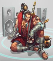DJ Shwann comission by Brolo