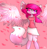 Beautiful as an Angel by BittyKitKat