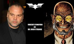 Gotham Knight T.V. Series Fan Cast - H.Strange V.1 by RobertTheComicWriter