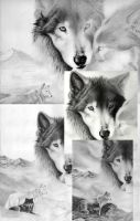 Wolf Mates - progress images by jocarra