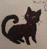Timbah Cat Cross-stitch by DystopianUtahraptor
