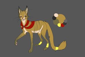 Egyptian cattt by Rinermai