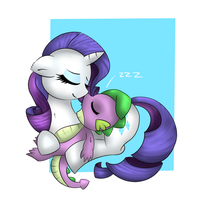 Sleepy Cuddles (Part 1/3) by WickedSilly